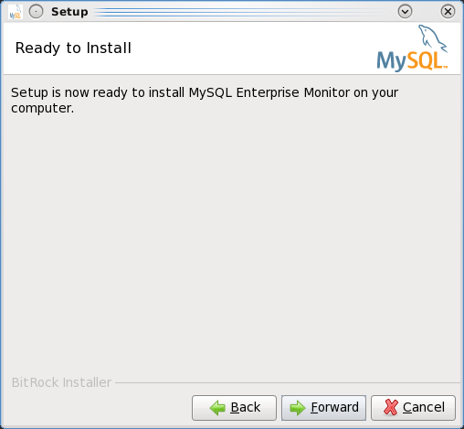 Installing the MEM 3.0 Service Manager - Step 9: Configuration completed