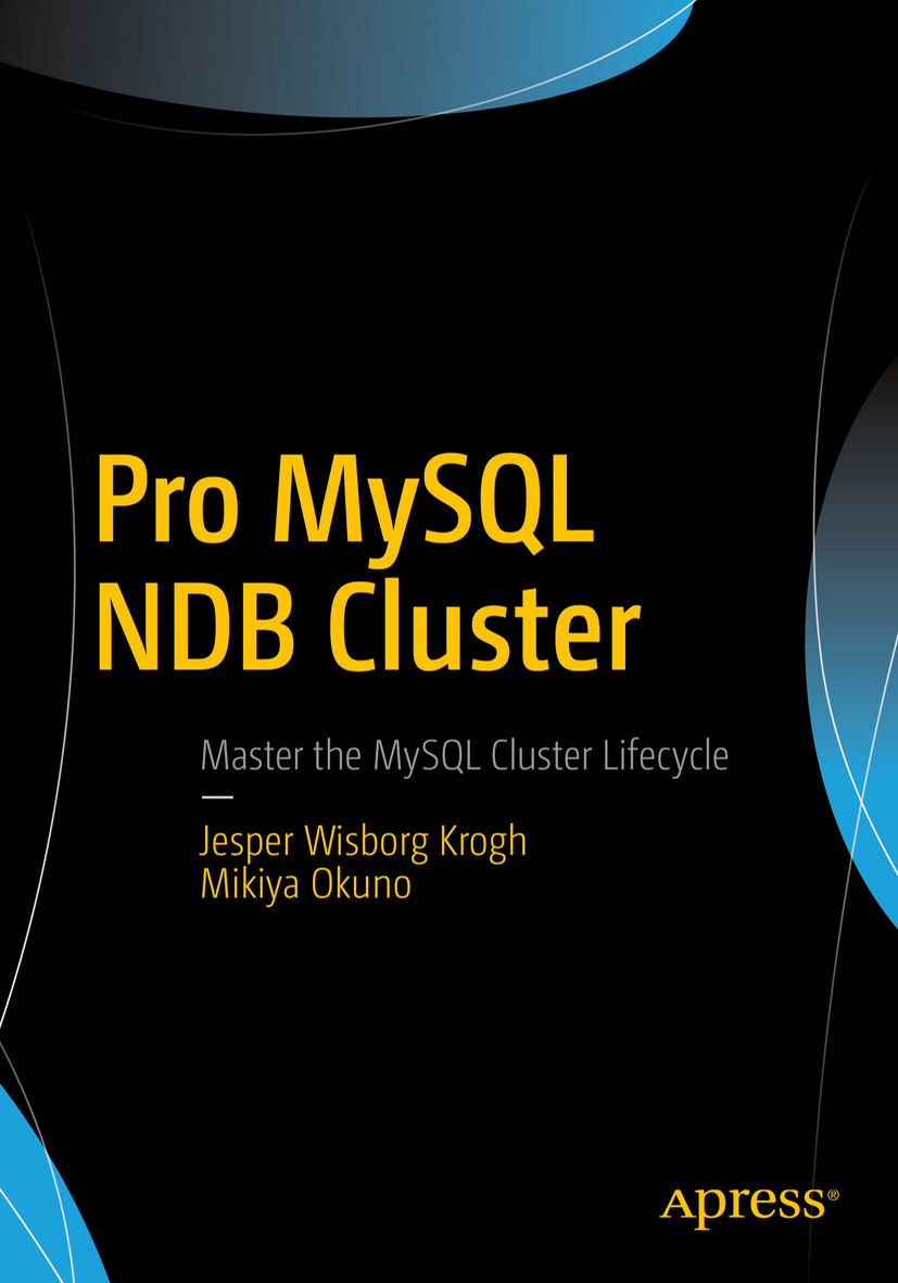 The cover for Pro MySQL NDB Cluster