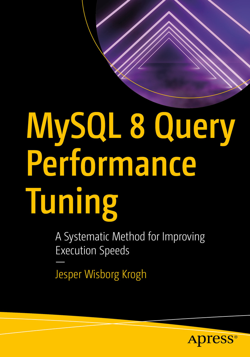 The cover for MySQL 8 Query Performance Tuning
