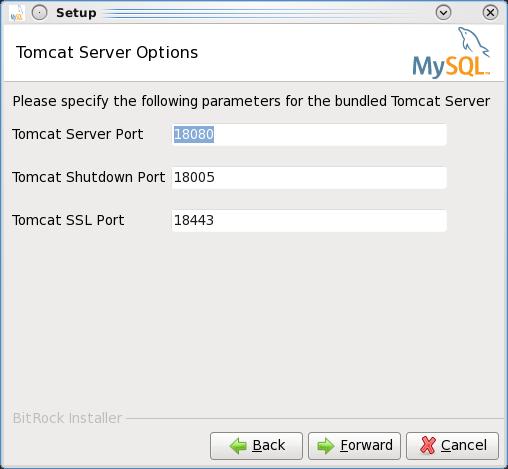 Installing the MEM 3.0 Service Manager - Step 5: Choose the port numbers