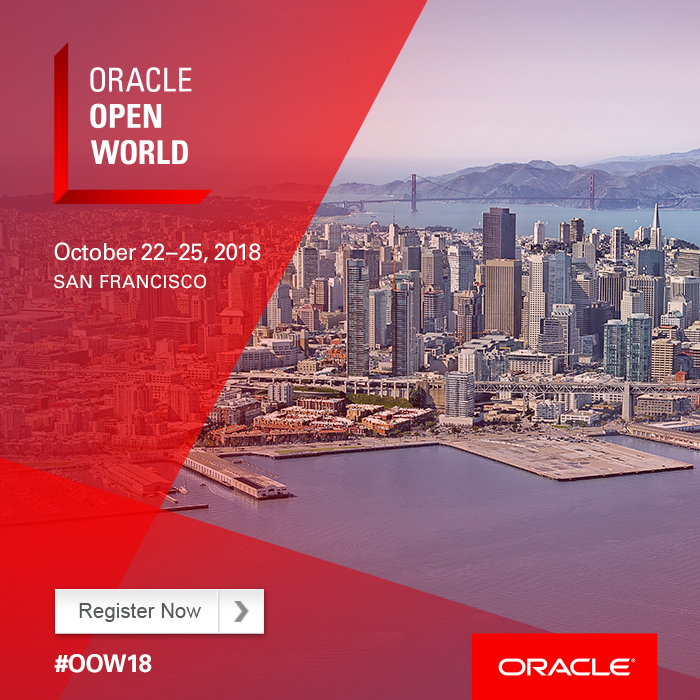 Register for Oracle OpenWorld 2018